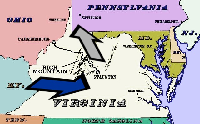 MAP: Old Virginia in Context